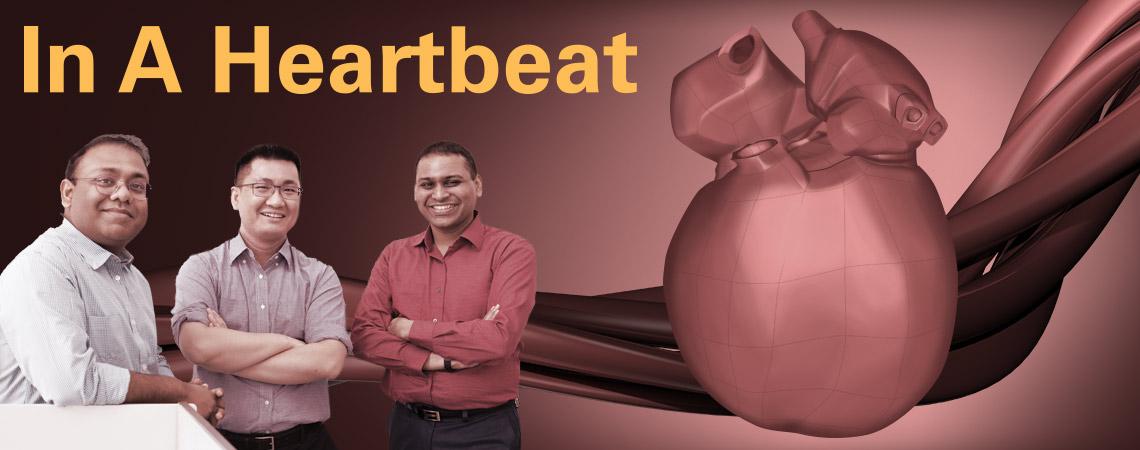 In a Heartbeat, featuring: Adarsh Krishnamurthy, Ming-Chen Hsu, Soumik Sarkar